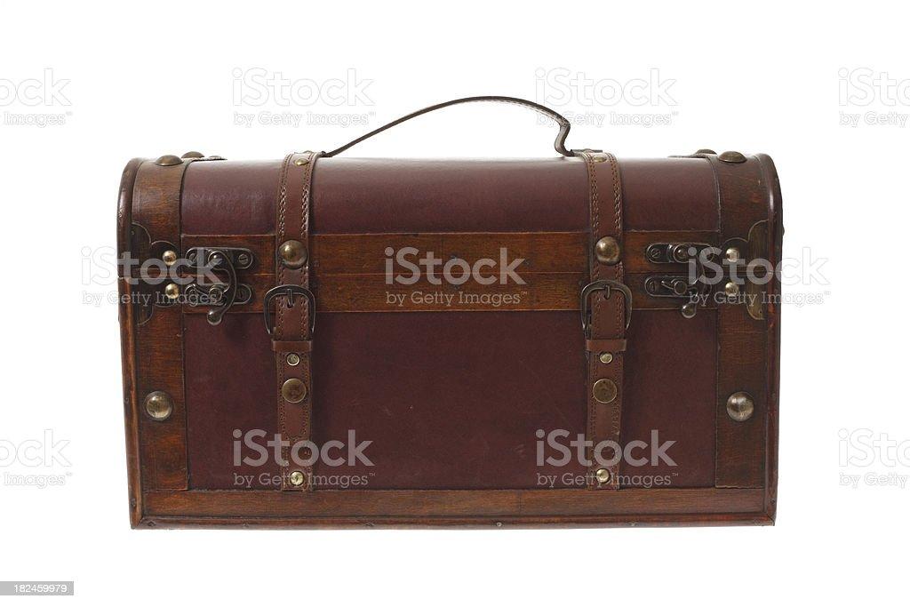 Vintage troncal de equipaje foto de stock libre de derechos