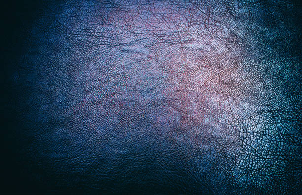 Vintage luxury leather texture plate background stock photo