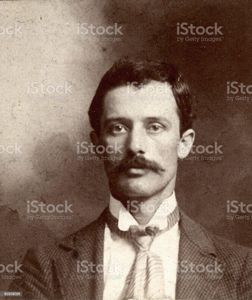 vintage man stock photo