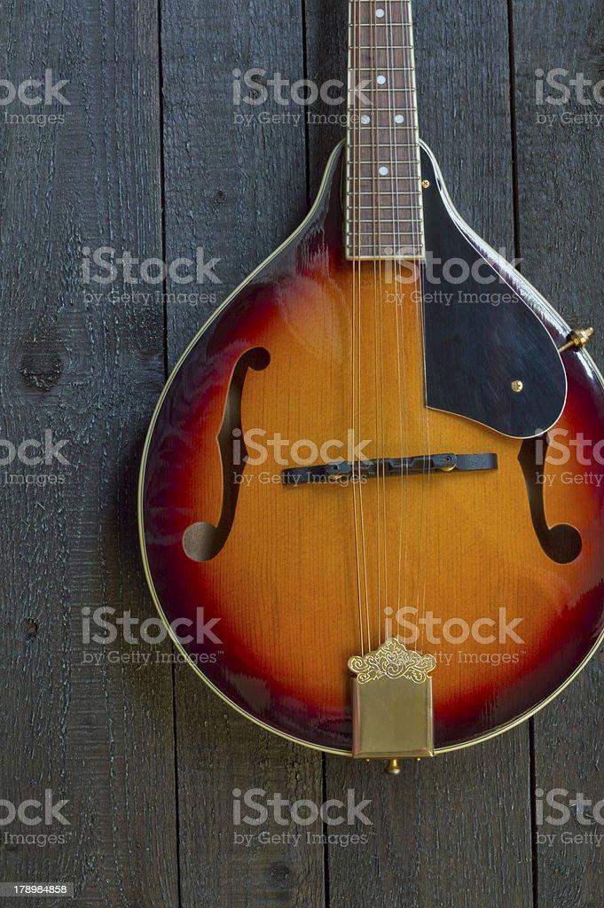 Vintage Mandolin stock photo