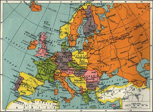 vintage europa - portugal map imagens e fotografias de stock