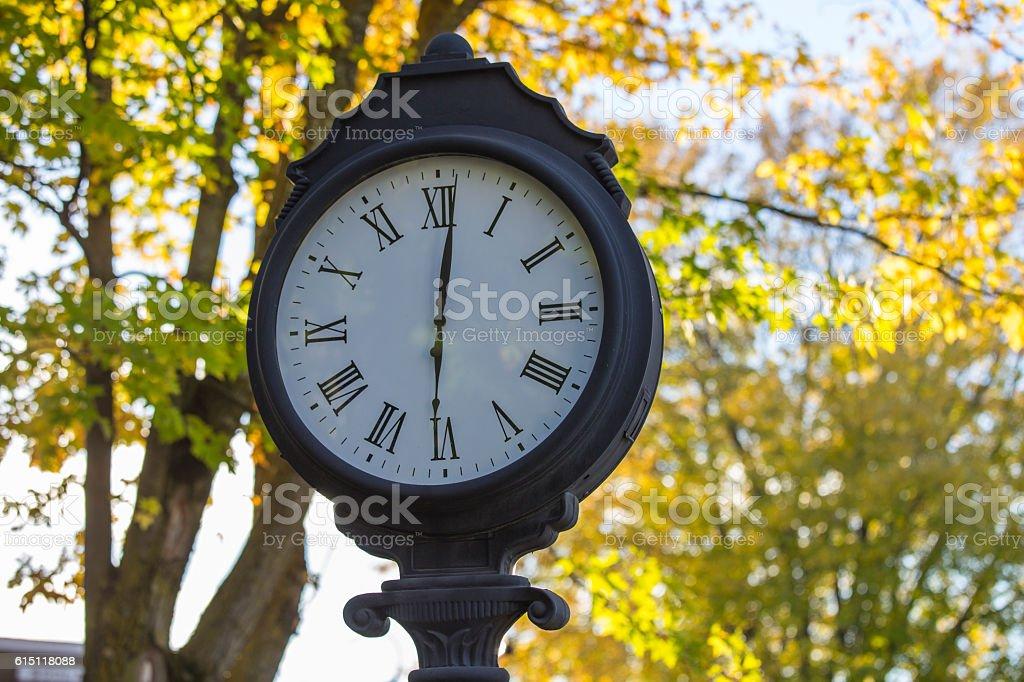 Vintage Metal Clock – Foto