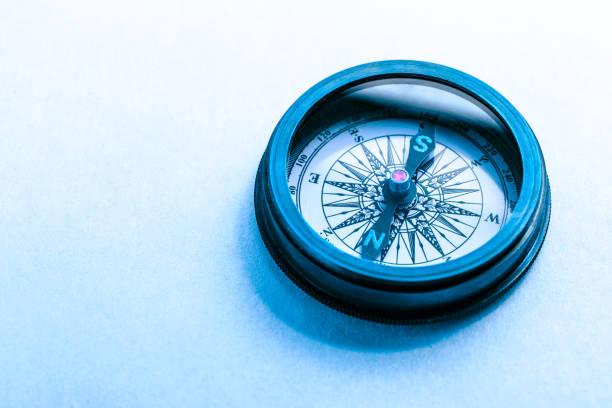 vintage metal compass - ring anleitung stock-fotos und bilder