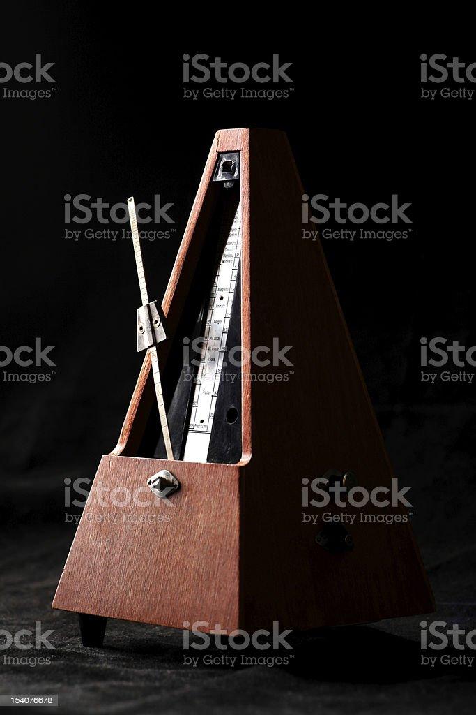 Vintage metronome royalty-free stock photo