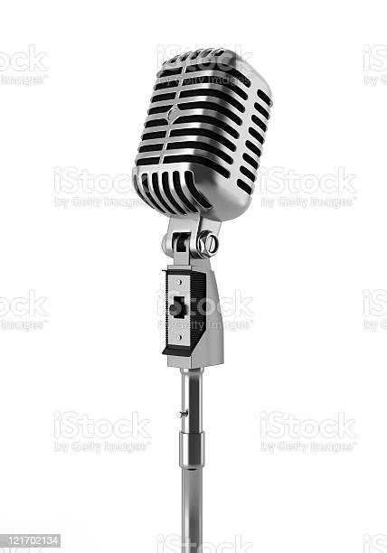 Vintage microphone isolated on white background picture id121702134?b=1&k=6&m=121702134&s=612x612&h=lm7ufhehgvtoolbmlu6vxqrmnmjaquqxnofsbnotcgc=