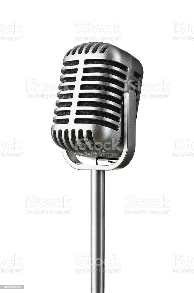 vintage microphone stock photo  u0026 more pictures of 1960