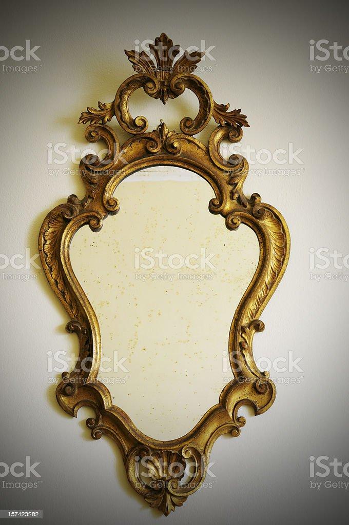 Vintage Mirror stock photo