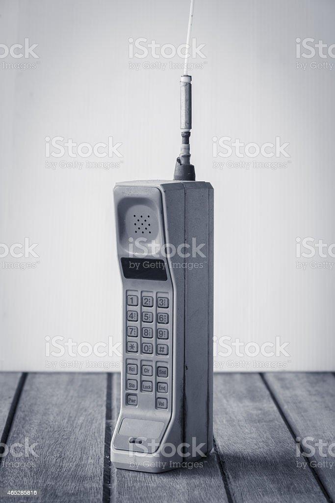 vintage-Mobiltelefon – Foto