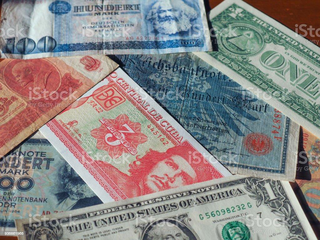 billet de banque pays de l'est