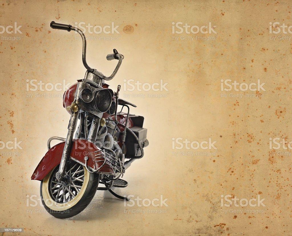 vintage motorbike royalty-free stock photo