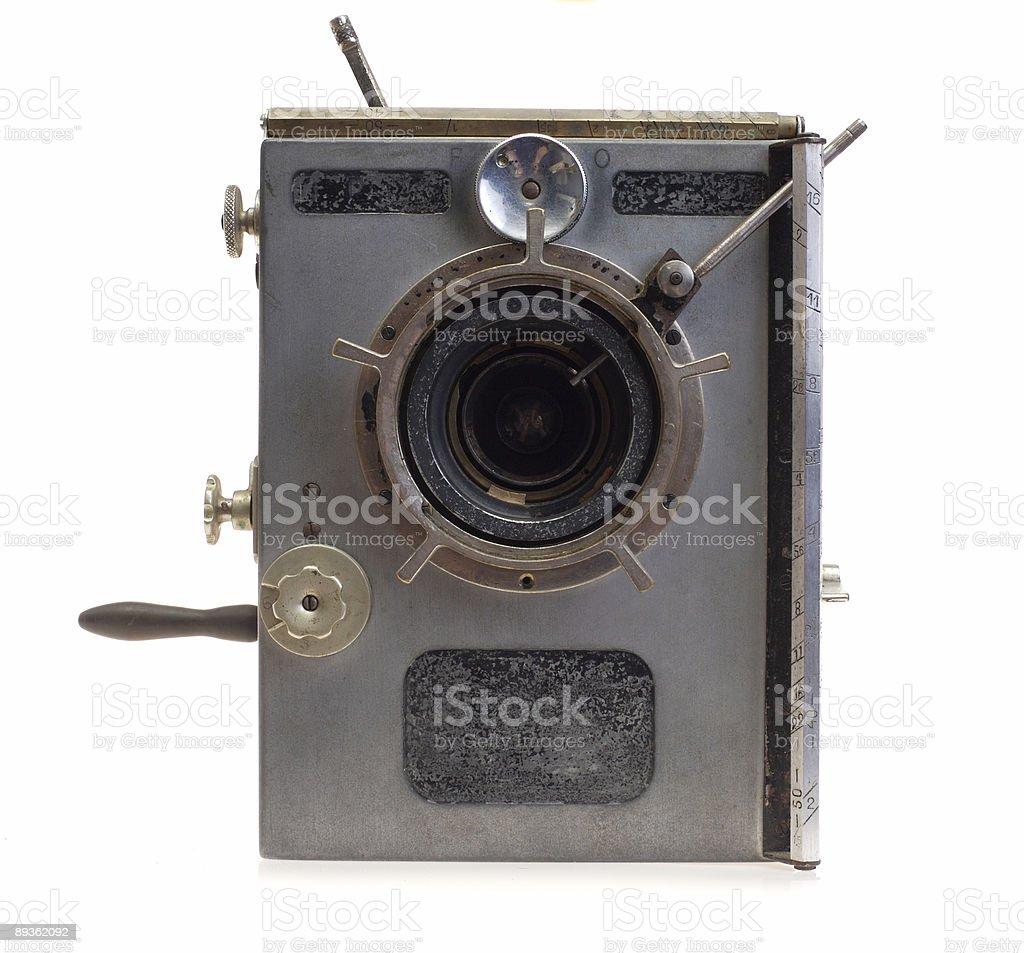 Vintage Movie Camera Series : Hand Crank stock photo