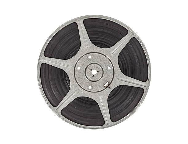 Vintage Movie Reel stock photo