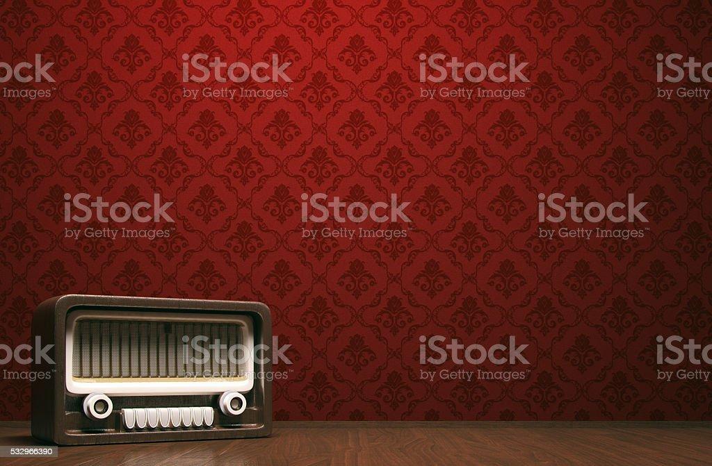 Vintage música concepto - foto de stock