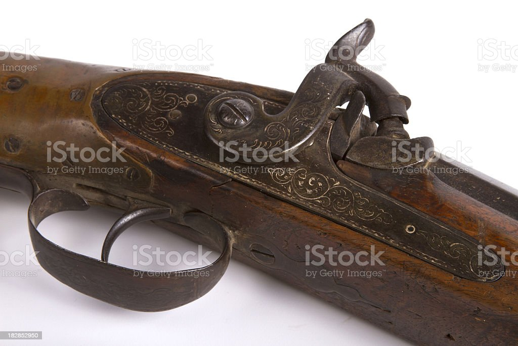 Vintage Musket Rifle royalty-free stock photo