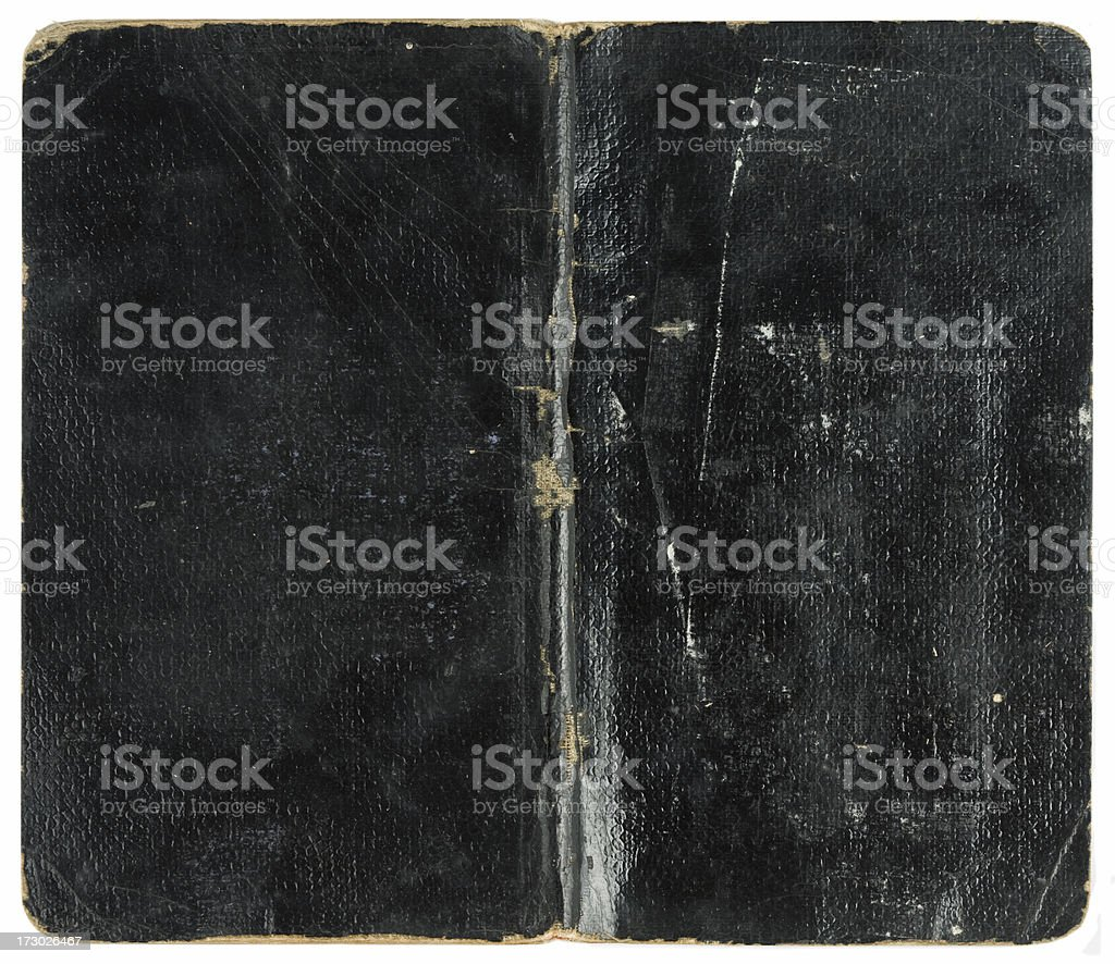 Vintage notebook from 1906 royalty-free stock photo
