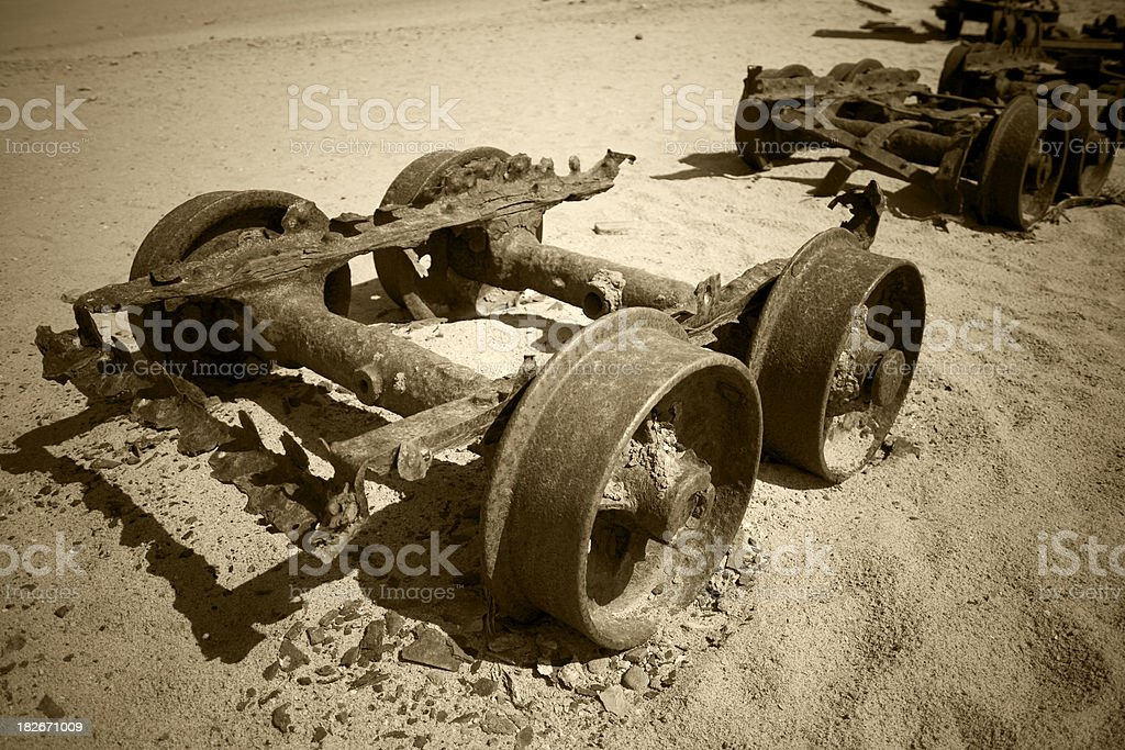 vintage old cart royalty-free stock photo