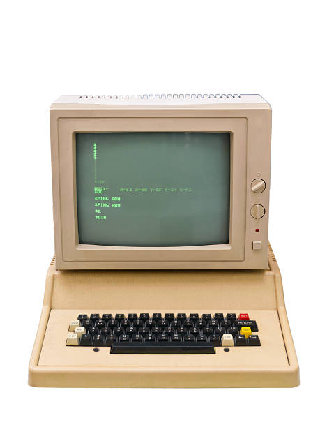 vintage old computer - mainframe stock pictures, royalty-free photos & images