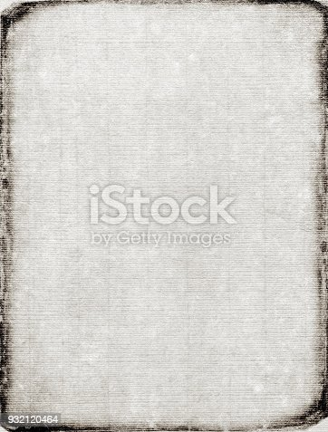 istock Vintage old gray paper textured background 932120464