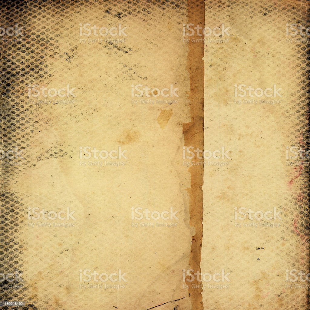 Vintage old grunge paper royalty-free stock photo