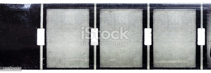 1125303139 istock photo vintage old nine and a half or 9,5mm film strip with middle or central perforation isolated on white background, safetyfilm or old school exposed filmstripe. 1204025332