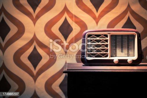 istock Vintage Old Radio on the Table 174965207