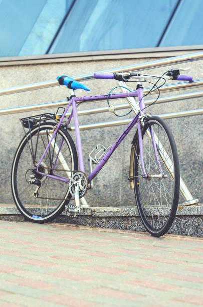 Vintage Old Retro Bicycle Stock Photo - Download Image Now - iStock
