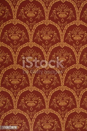 istock Vintage Old Wallpaper 110922676