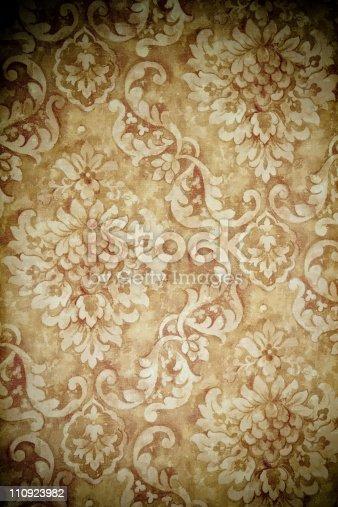 184875559istockphoto Vintage Old Wallpaper 110923982