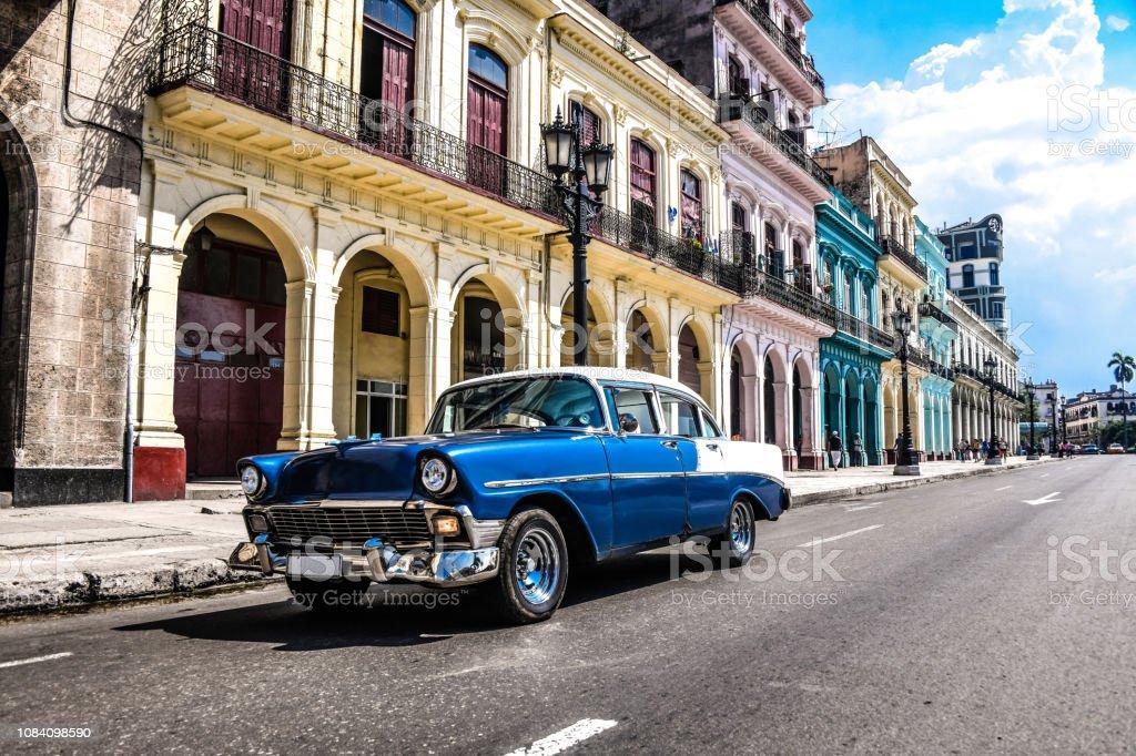 Vintage On The Streets Of Havana, Cuba
