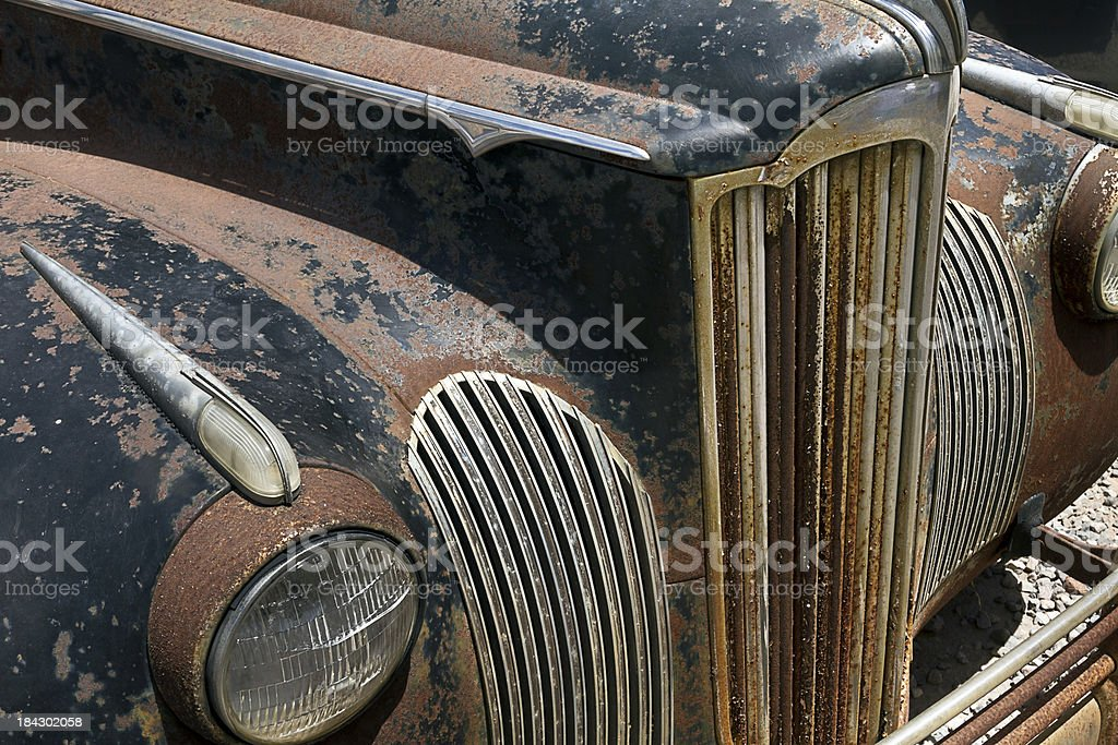 Vintage One Eighty Detail royalty-free stock photo