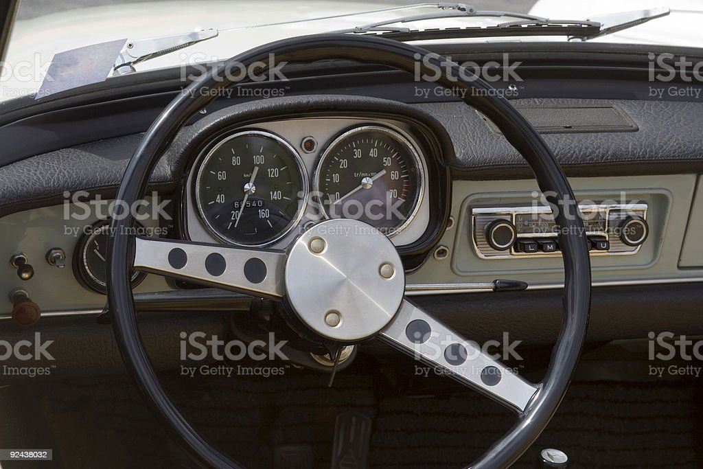 Vintage Opel - German Car royalty-free stock photo