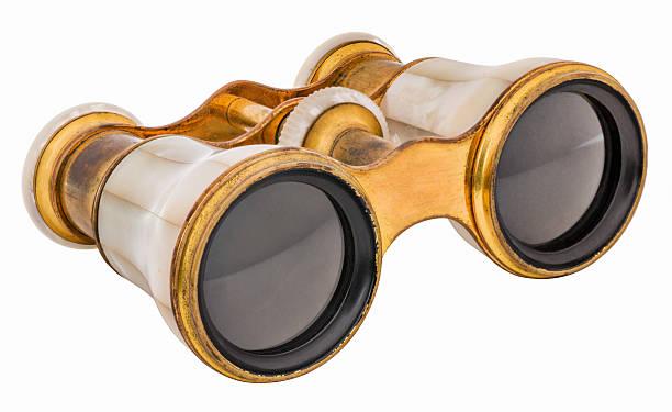 Vintage Opera Glasses, Binoculars stock photo