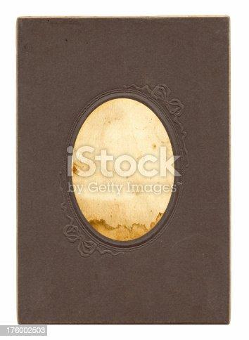 istock Vintage Oval Frame 176002503