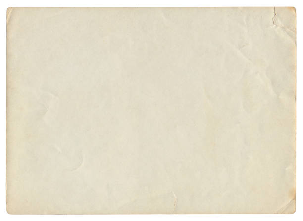 Vintage Paper Background isolated stock photo