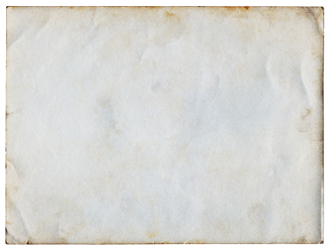 Vintage Paper isolated (clipping path included)