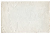 istock Vintage Paper Background isolated 1216907205
