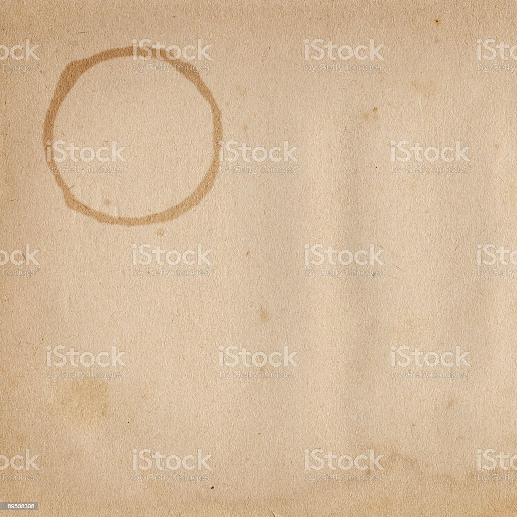 Vintage Paper Square royalty-free stock photo