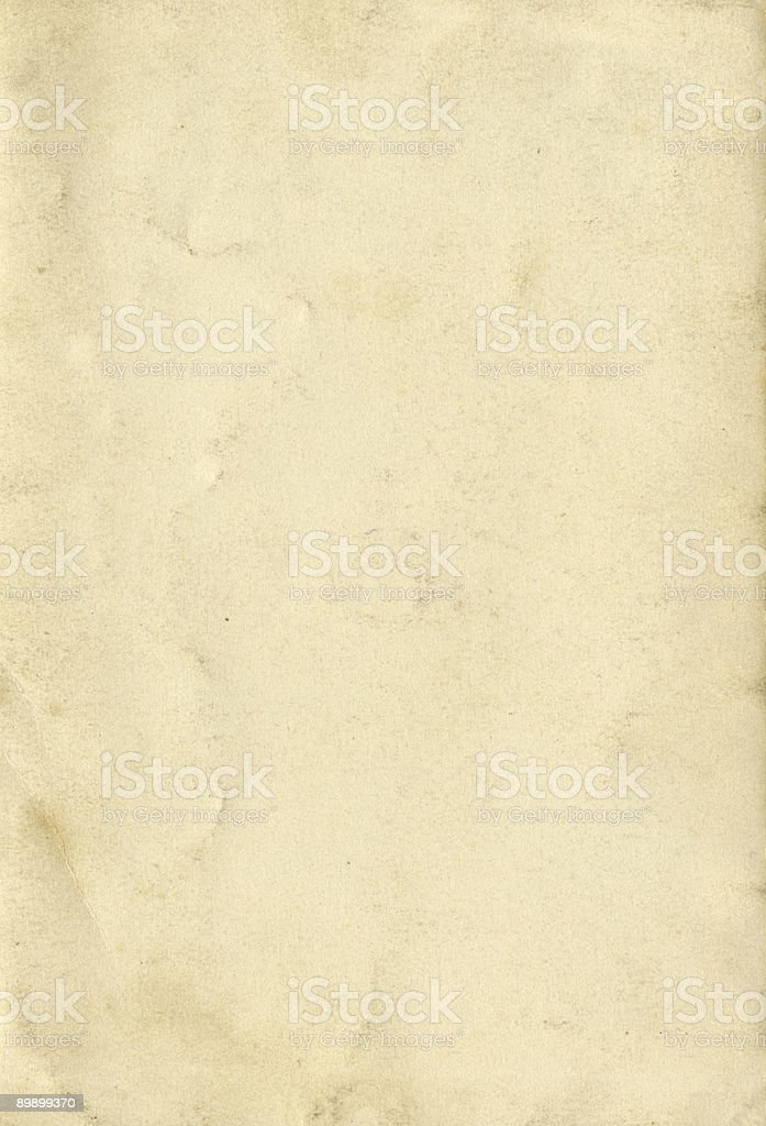 Vintage paper texture - detailed background royalty-free stock photo