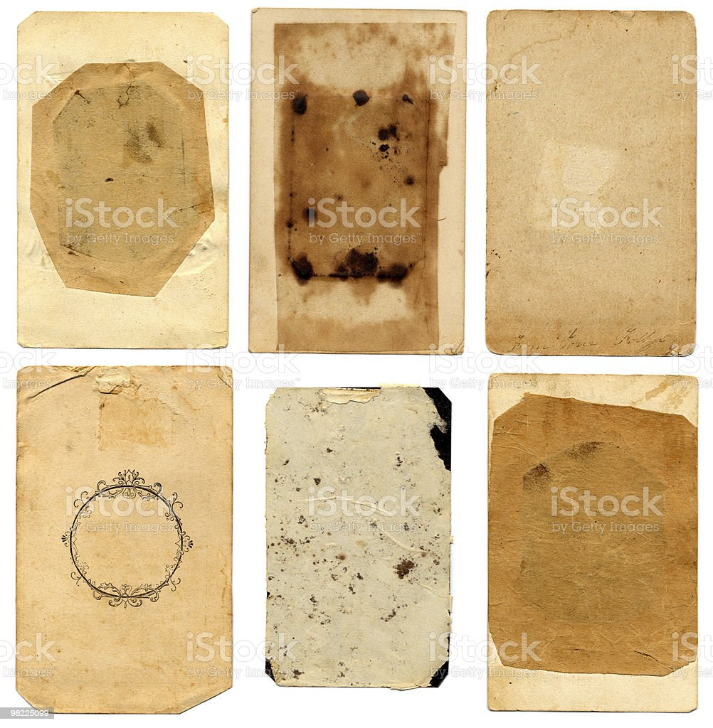 Vintage Paper Value Pack!  XXL royalty-free stock photo
