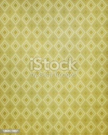 istock vintage paper with 60's style pattern 186823851