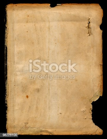 Vintage Paper Xxl Stock Photo & More Pictures of Ancient