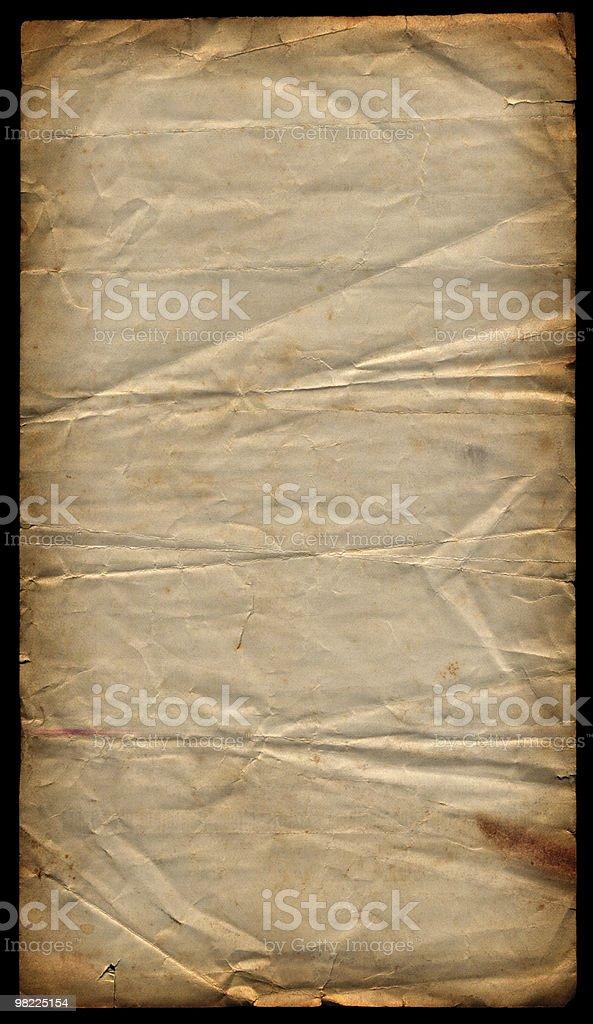 Vintage Paper XXL royalty-free stock photo