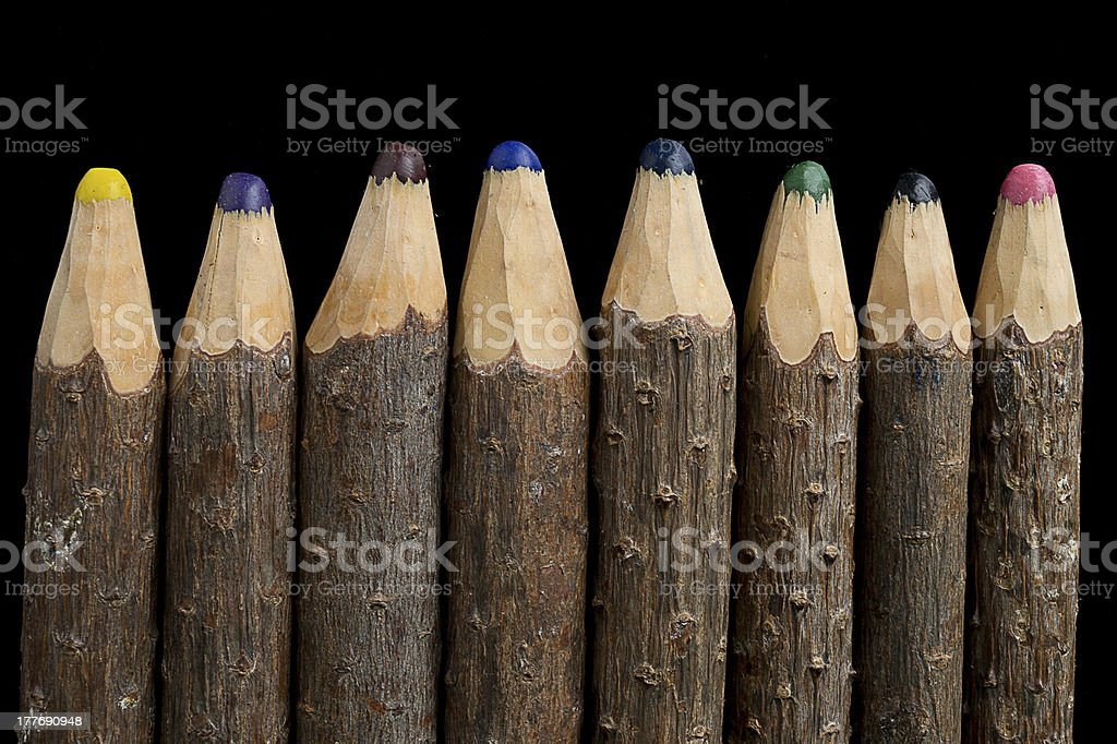 vintage Pencils royalty-free stock photo