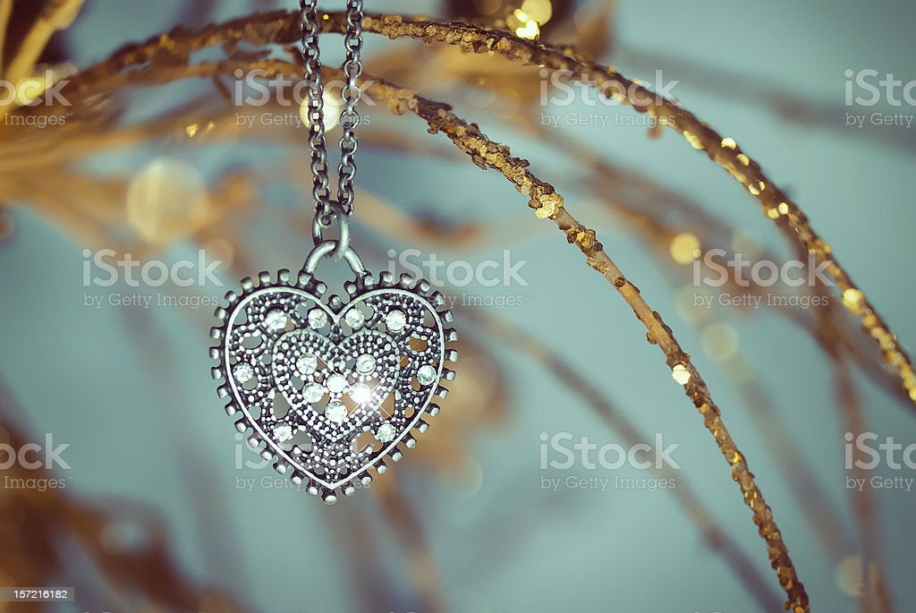 Vintage pendant stock photo