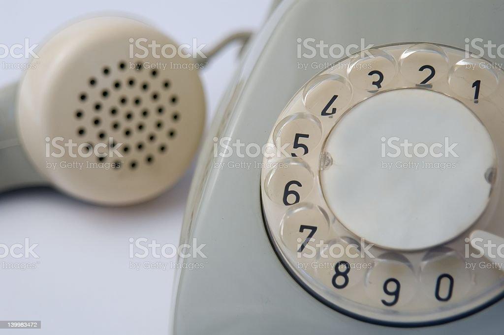 Telefone antigo - foto de acervo