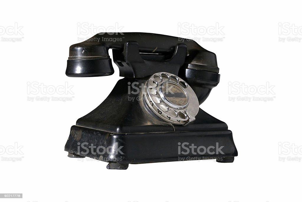 Vintage Phone  Antenna - Aerial Stock Photo