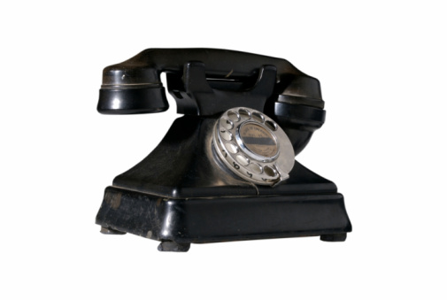 Vintage Phone Stock Photo - Download Image Now