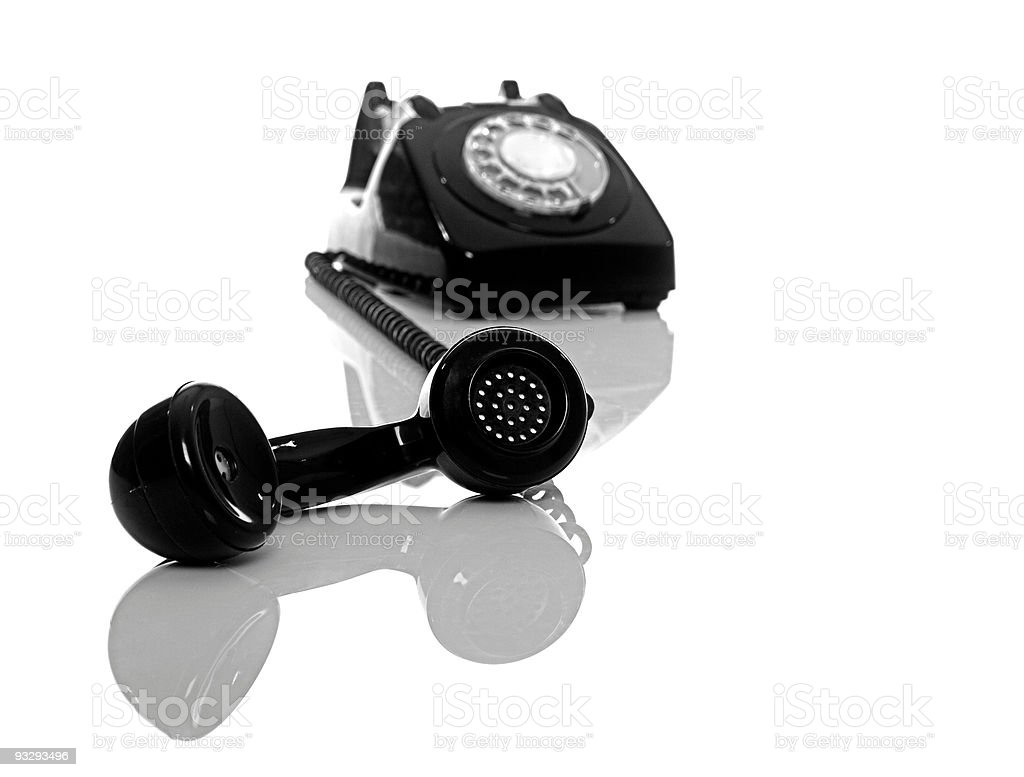 Vintage Phone royalty-free stock photo