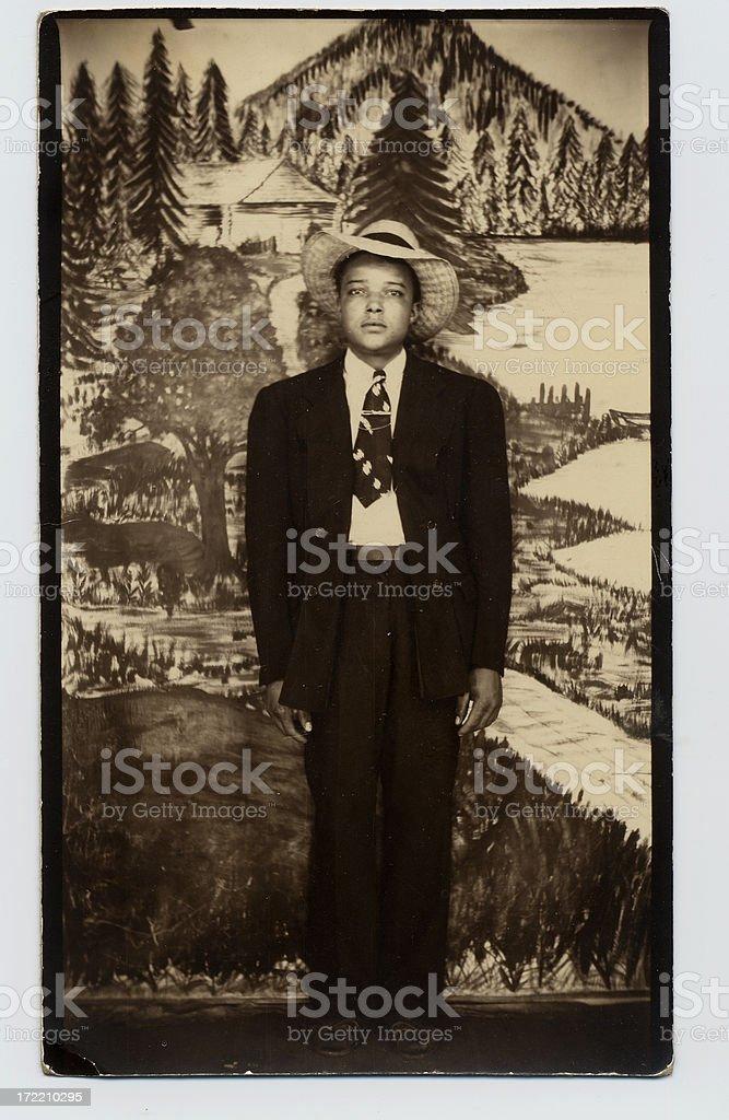 vintage photo: 1 stock photo