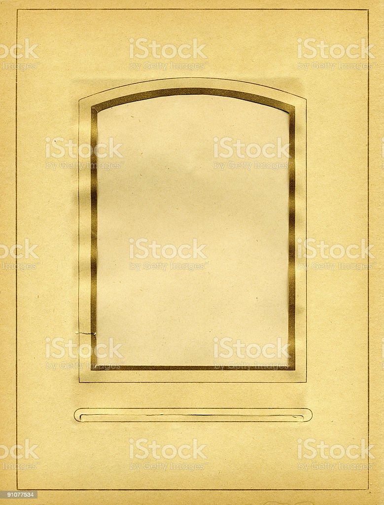 vintage photo album stock photo